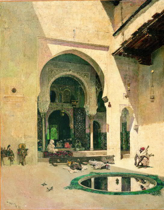 Mariano_Fortuny_The_Court_of_the_Alhambra
