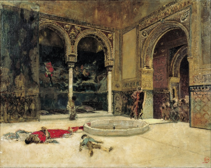 Marià_Fortuny_-_The_Slaying_of_the_Abencerrajes_-_Google_Art_Project