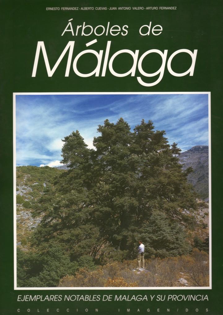 Árboles de Málaga (Portada del libro)