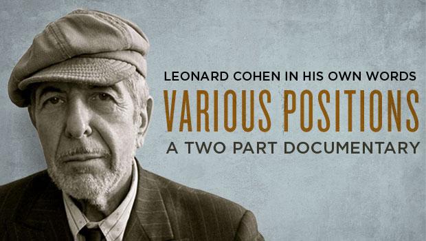 Leonard Cohen -Vaious Positions-
