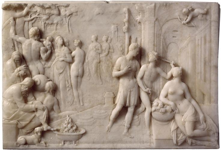 Alegoría de Francisco I de Medici Giambologna sala 4