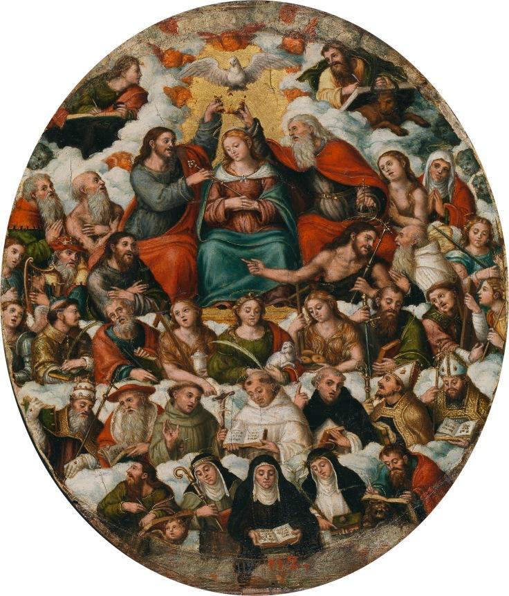 ´La coronación de l Virgen Vicente Macip sala 5