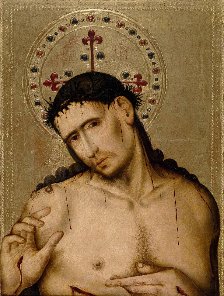 Cristo Varón de Dolores Juan Sánchez de San Román sala 3mp