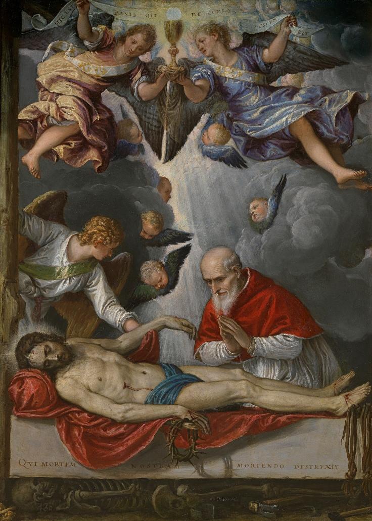 Cristo yacente Michele Parrasio, sala5