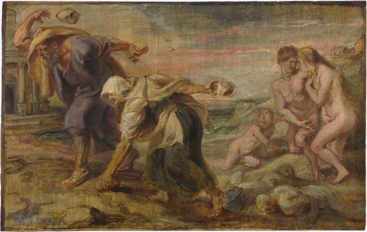 Deucalión y Pirra, Pedro Pablo Rubens sala 7