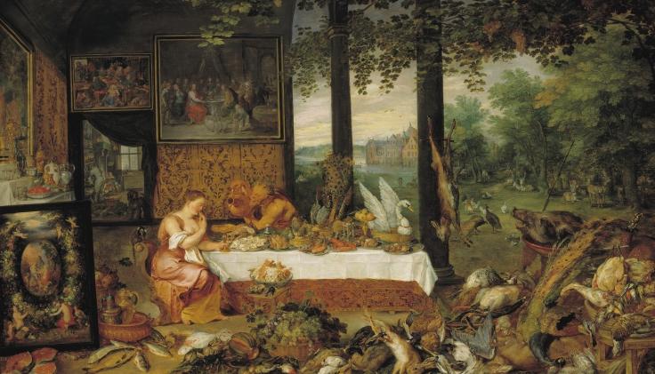 El Gusto, Pedro Pablo Rubens y Jan Brueghel el Viejo