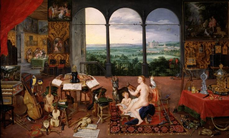 El oído, Pedro Pablo Rubens y Jan Brueghel el Viejo