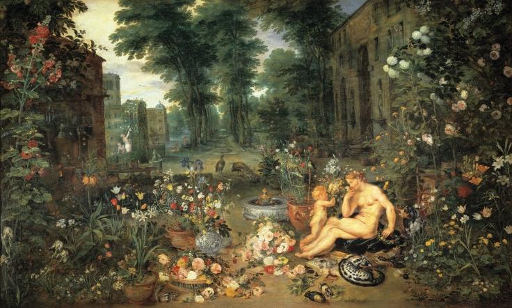 El Olfato, Pedro Pablo Rubens y Jan Brueghel el Viejo