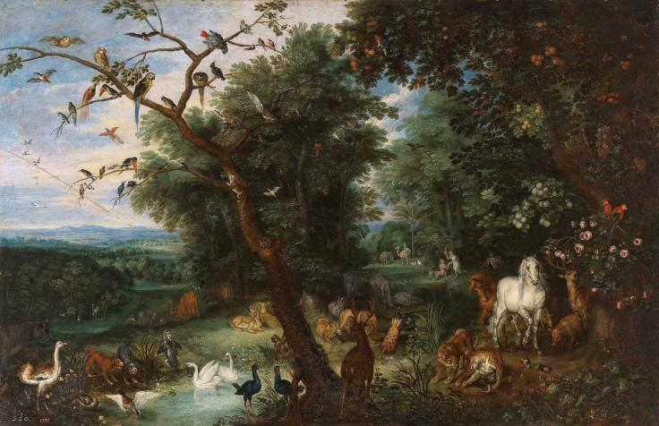 El Paraíso terrenal, Brueghel el Joven, Pieter Copia de Bruegel el Viejo, Pieter sala 8