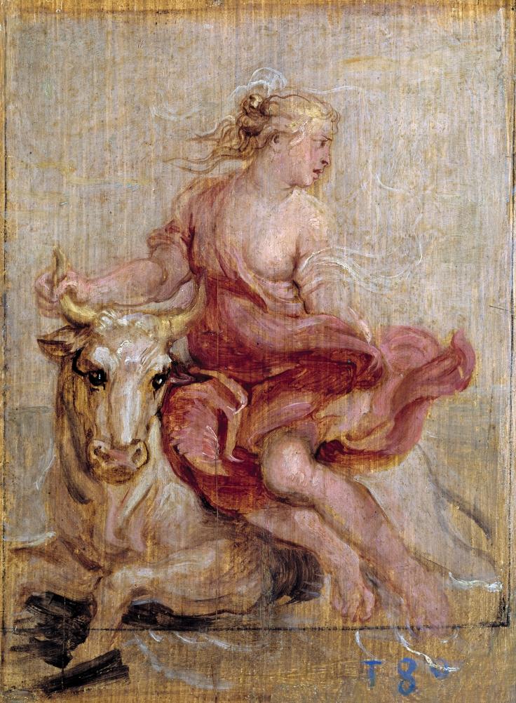 El rapto de Europa, Pedro Pablo Rubens sala7