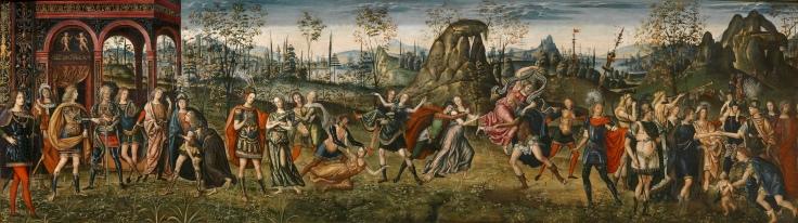 El rapto de las sabinas Amico Aspertini y Guido Aspertini Sala2