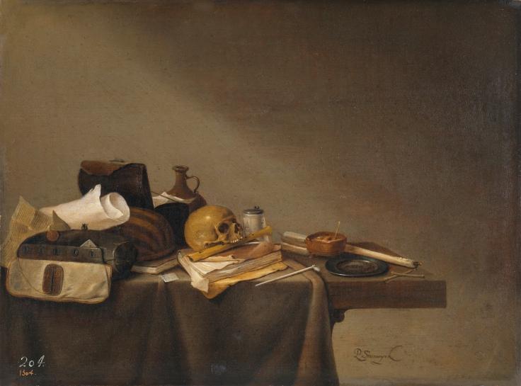 Emblema de la muerte, Pieter Steenwijck sala 8