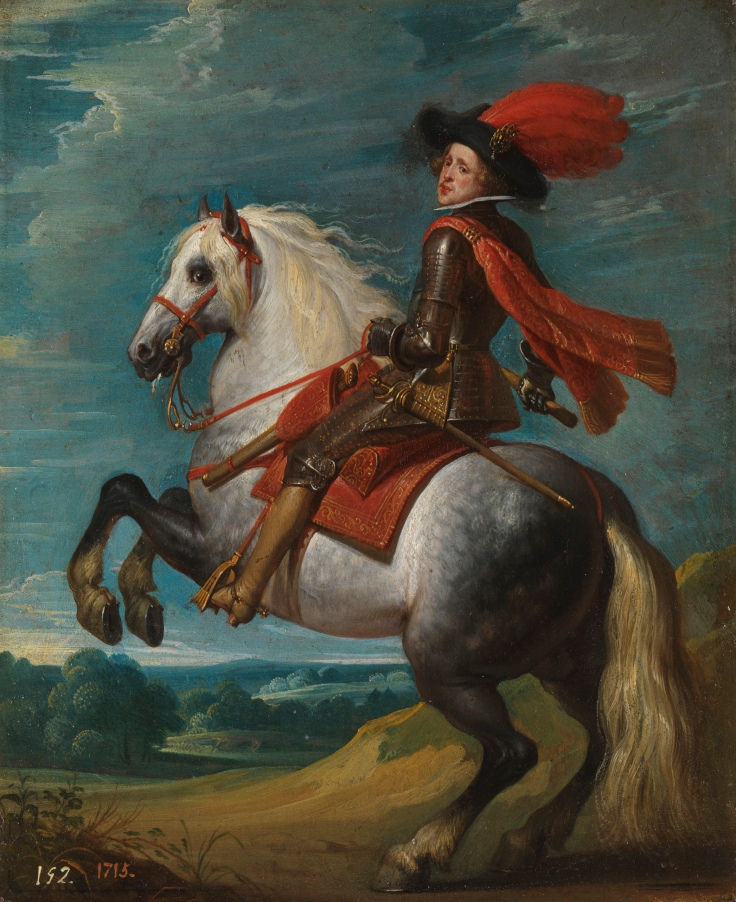 Felipe IV a caballo, Gaspar de Crayer sala7