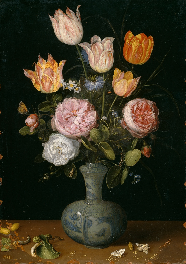 Florero 2, Jan Brueghel el Viejo sala 8