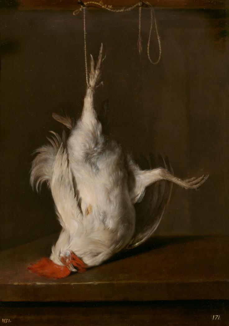 Gallo muerto, Gabriël Metsu sala 8