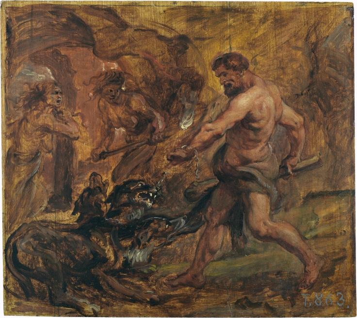 Hércules y el Cancerbero, Pedro Pablo Rubens sala 7