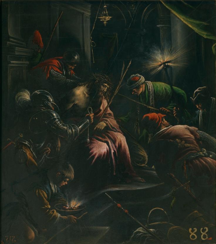 La coronación de espinas Leandro Bassano sla 5