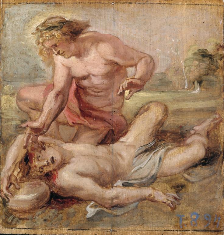 La muerte de Jacinto, Pedro Pablo Rubens sala 7