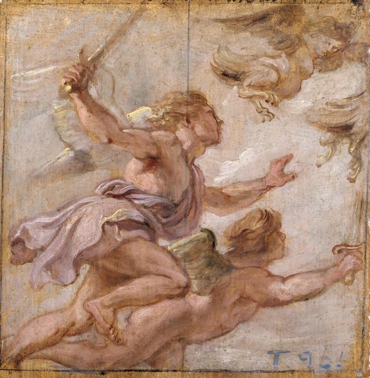 La persecución de las Harpías, Pedro Pablo Rubens sala 7