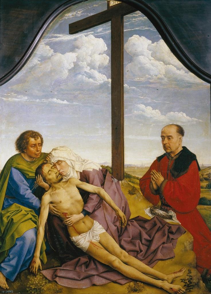 La piedad Roger Van der Weyden sala 3mp