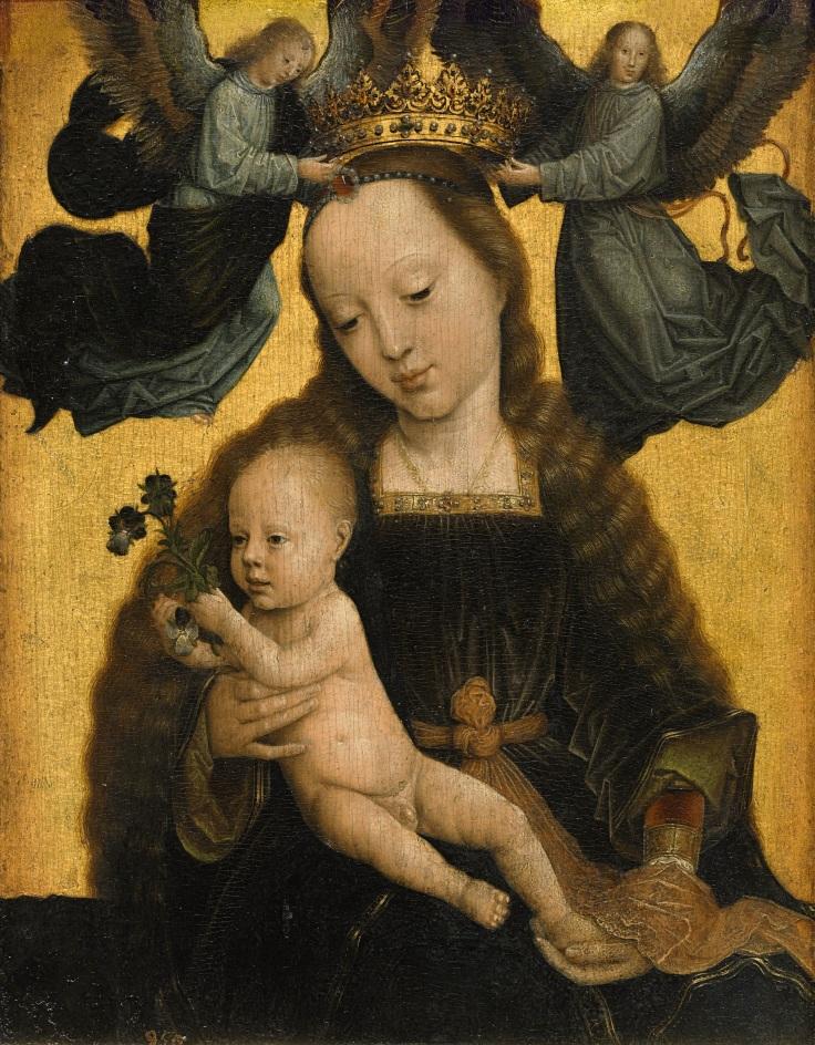 La virgen con el niño y ángeles GerardDavid sala 2.mp