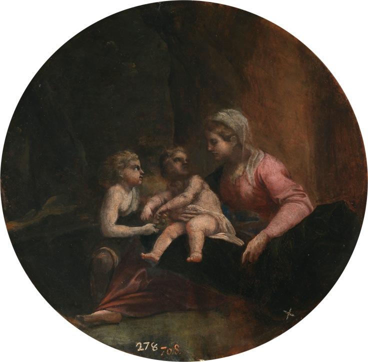La Virgen con el Niño y san Juan Annibale Carracci sala 5
