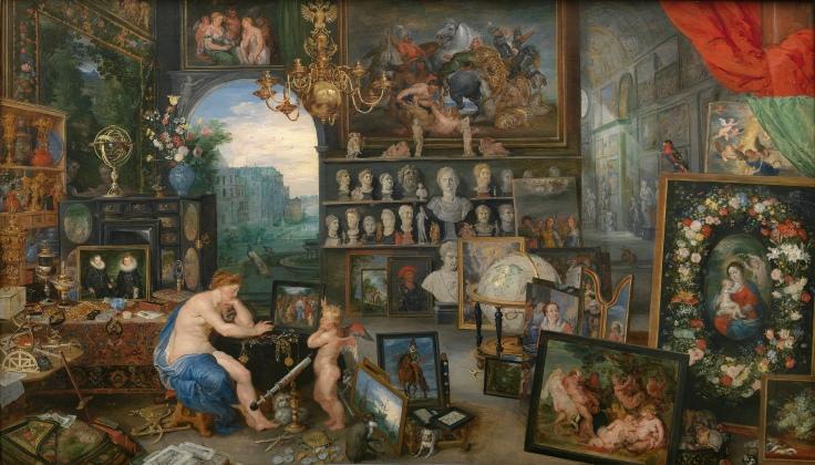 La Vista, Pedro Pablo Rubens y Jan Brueghel el Viejo sala 7