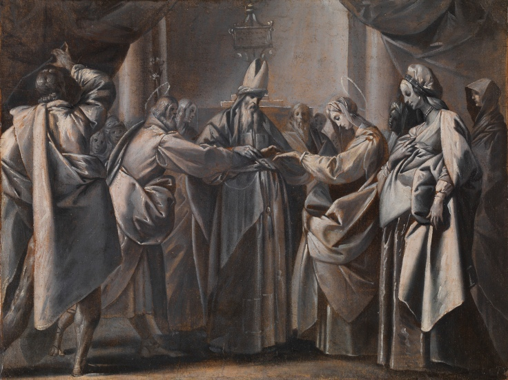 Los desposorios de la Virgen Pier Francesco Mazzucchelli, Il Morazzone sala 5