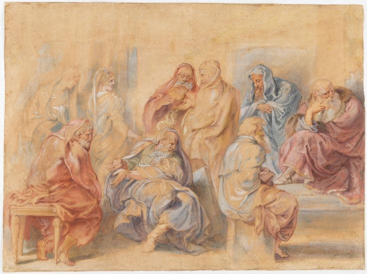 Los siete sabios de Grecia, Pedro Pablo Rubens sala 7