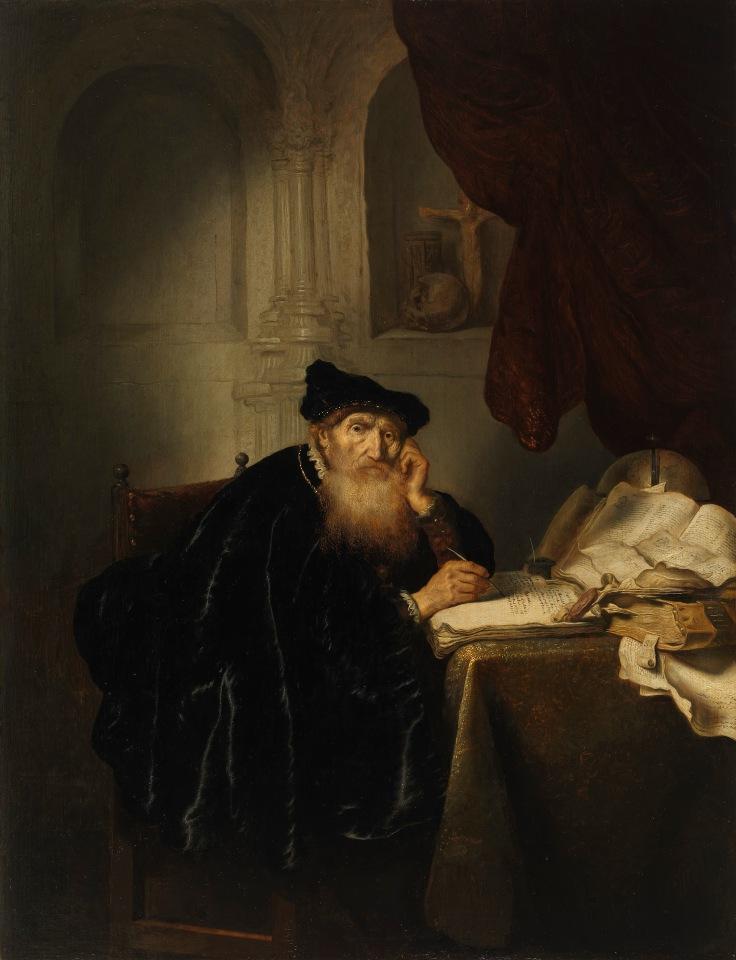 Un filósofo, Salomon Koninck sala 8