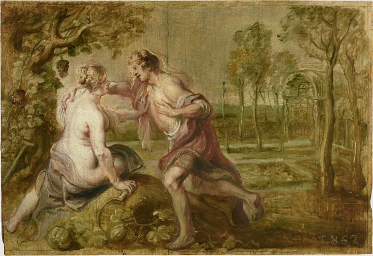 Vertumno y Pomona, Pedro Pablo Rubens sala 7
