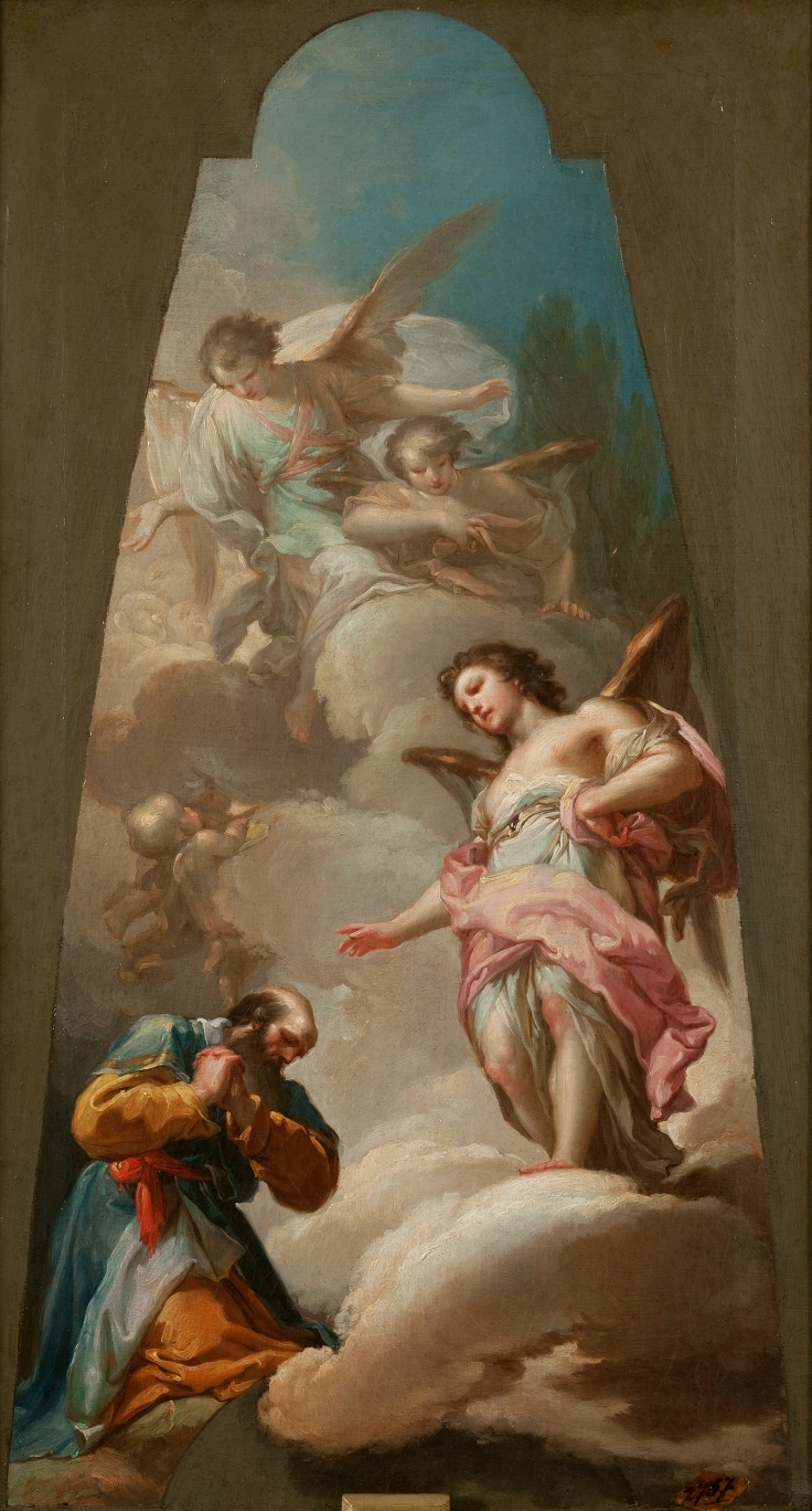 Abraham y los tres ángeles, Francisco Bayeu y Subías