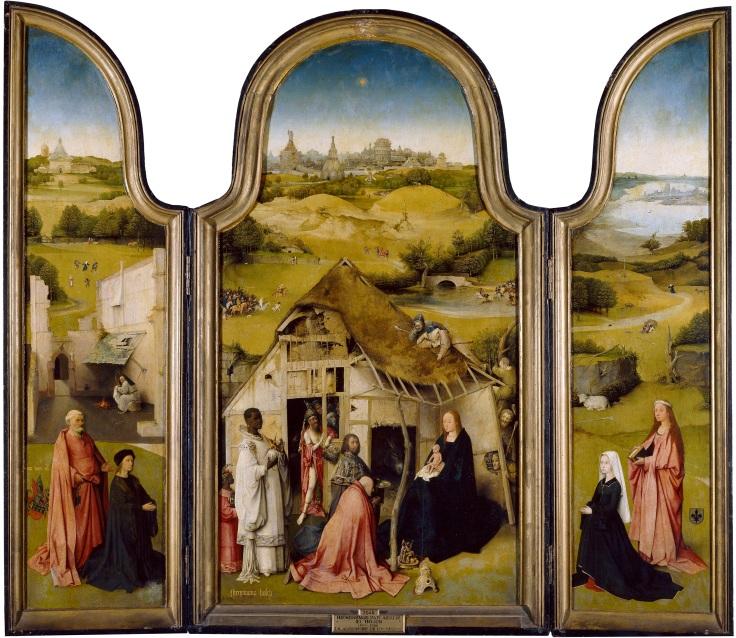 Adoración de los Reyes Magos, El Boscomp