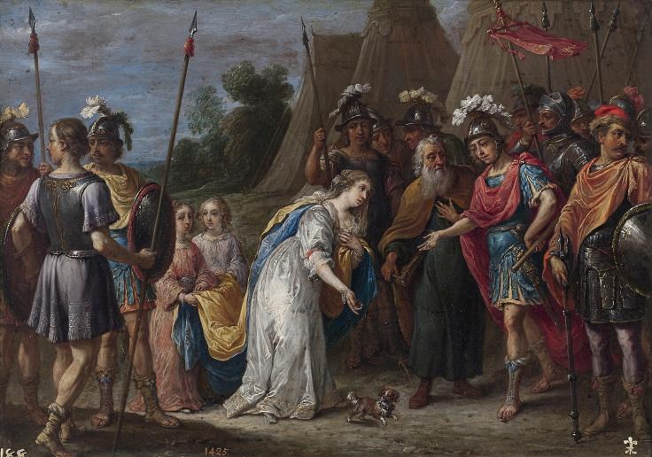 Armida ante Godofredo de Bouillon, David Teniers