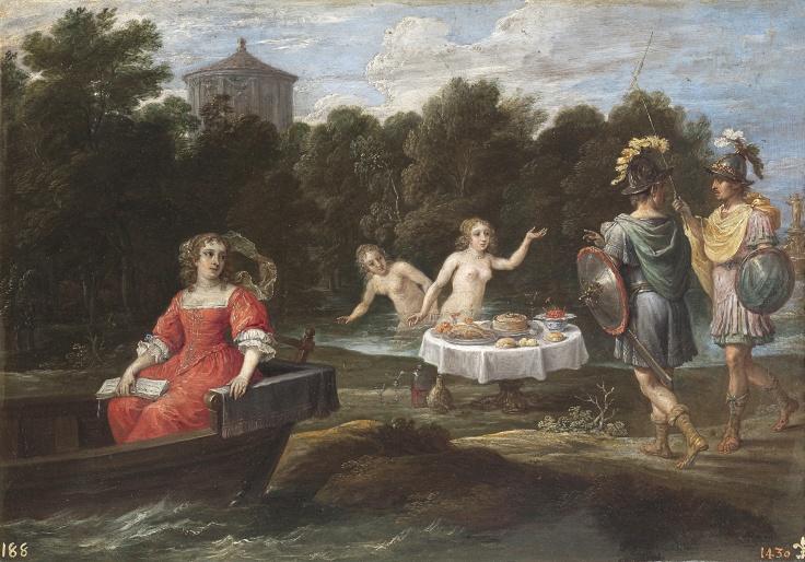 Carlos y Ubaldo en las islas Afortunadas, David Teniers