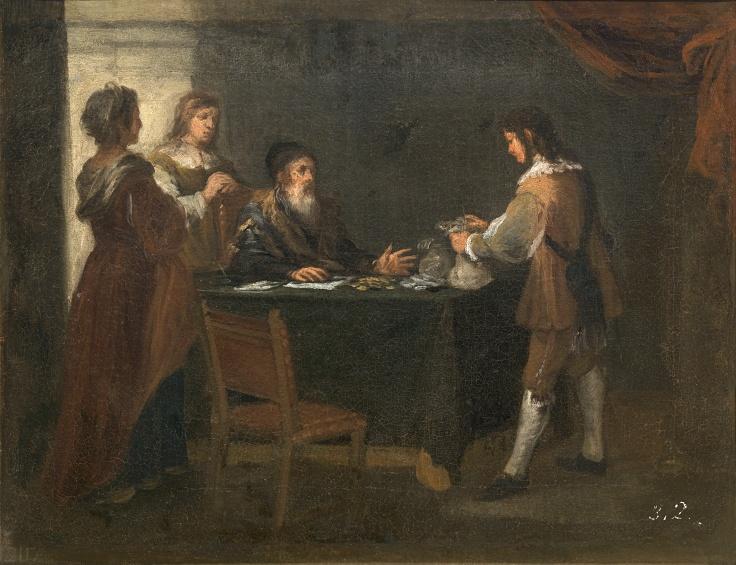 El hijo pródigo recoge su legítima, Bartolomé Esteban Murillo