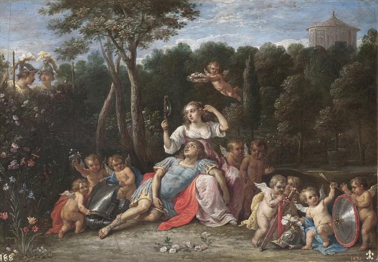 El jardín de Armida, David Teniers