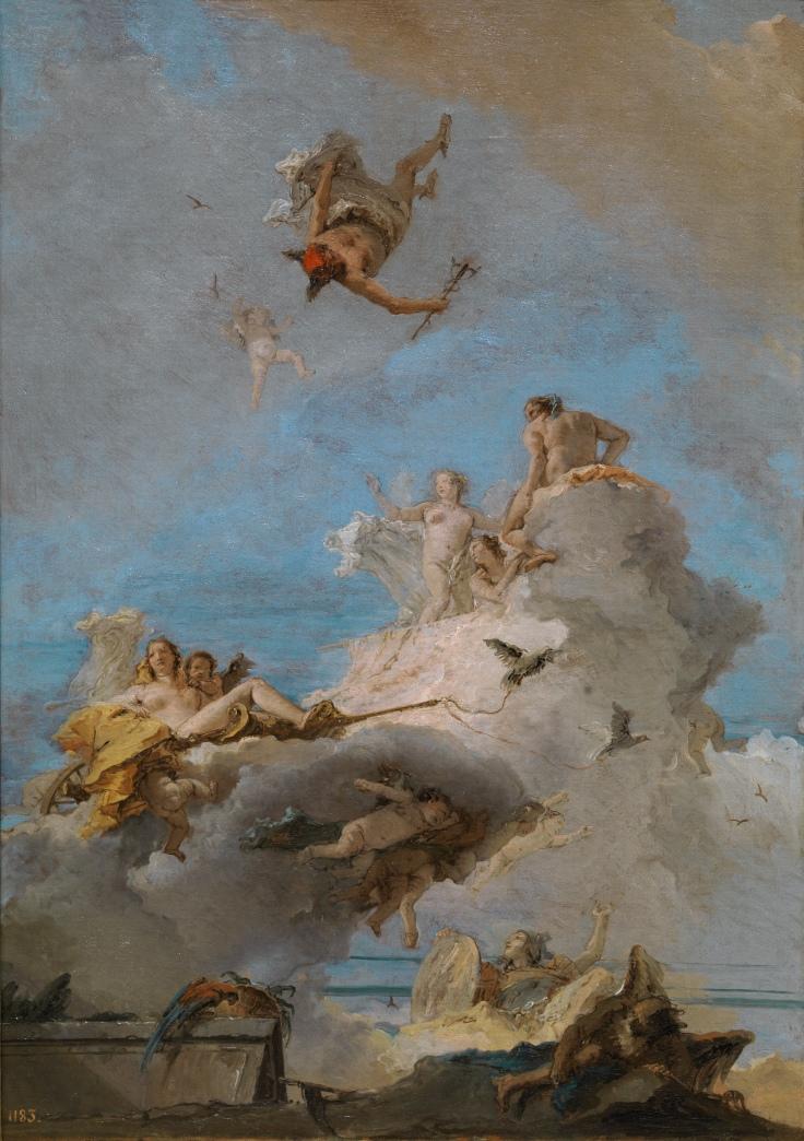 El Olimpo o Triunfo de Venus, Giambattista Tiepolo