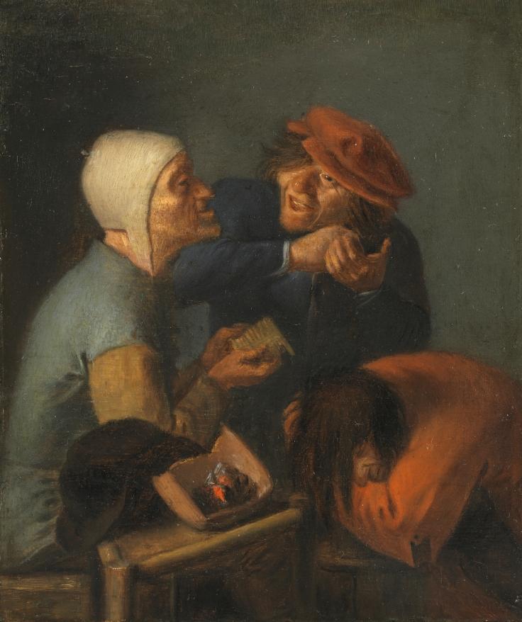 El peinado, Adriaen Brouwer