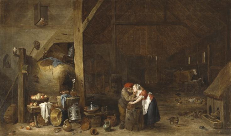 El viejo y la criada, David Teniers