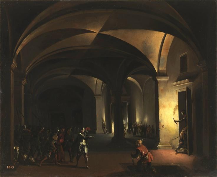Jesús en el atrio del pontífice, Hendrick van Steenwijck