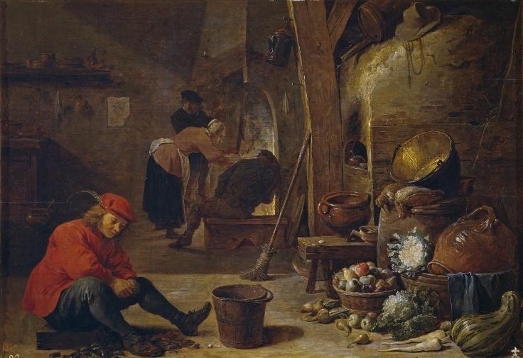 La cocina, David Teniers