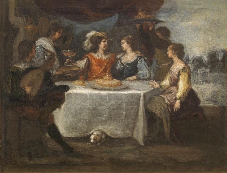 La disipación del hijo pródigo, Bartolomé Esteban Murillo