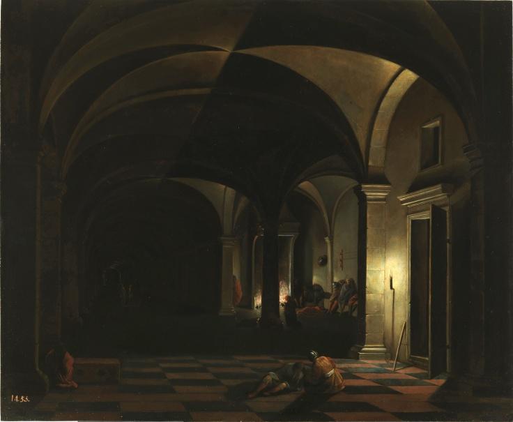 La negación de san Pedro, Hendrick van Steenwijck