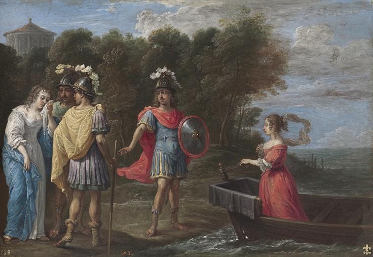 La separación de Armida y Reinaldo, David Teniers