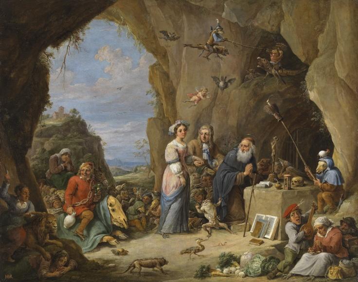 Las tentaciones de san Antonio abad, David Teniers