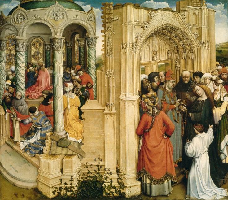 Los Desposorios de la Virgen, Campin, Robert anversomp