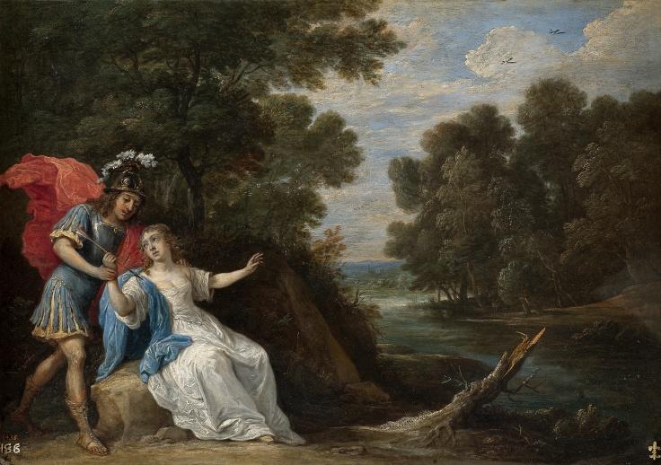 Reconciliación de Reinaldo y Armida, David Teniers
