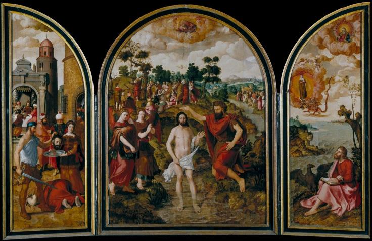 Tríptico de los santos Juanes, Pourbus, Pierremp