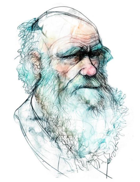'El origen de las especies' de Charles Darwin (1809-1882). La teoría que revolucionó la biología: las especies evolucionan por selección natural.